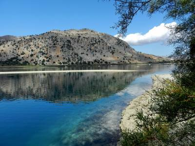rent a car lake kournas chania